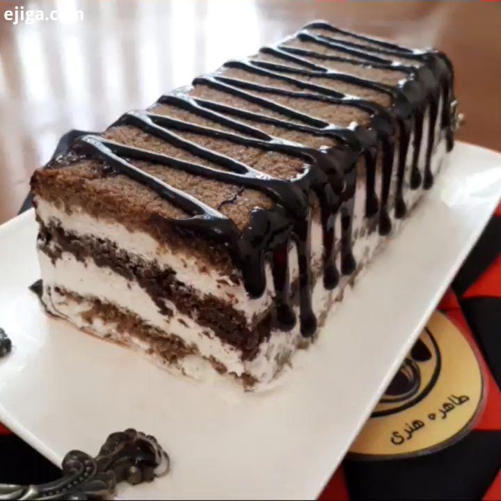 کیک بستنی طاهره هنری دسر طاهره هنری میگن سالی که با بارون تموم بشه با عشق شروع میشه خیلی حس خوبی به