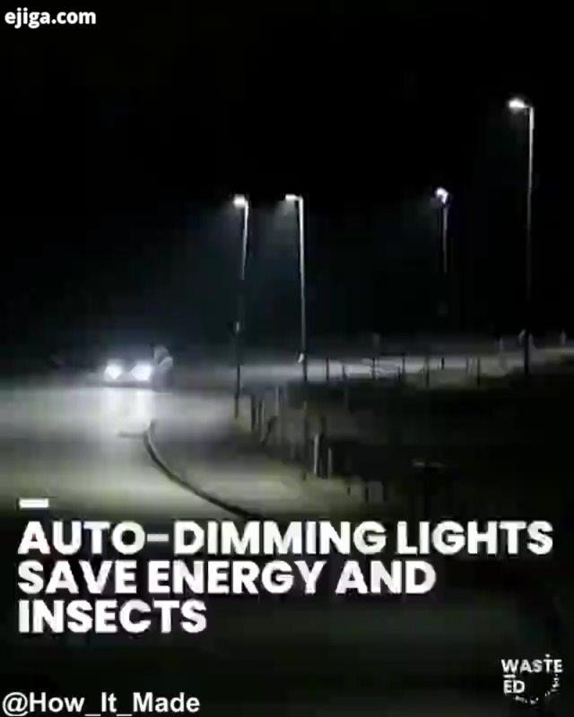 چراغهای هوشمند خیابان هر یک از این چراغها مجهز به سنسورهای حرکتی هستند که هنگام عبور وسایل نقلیه باع