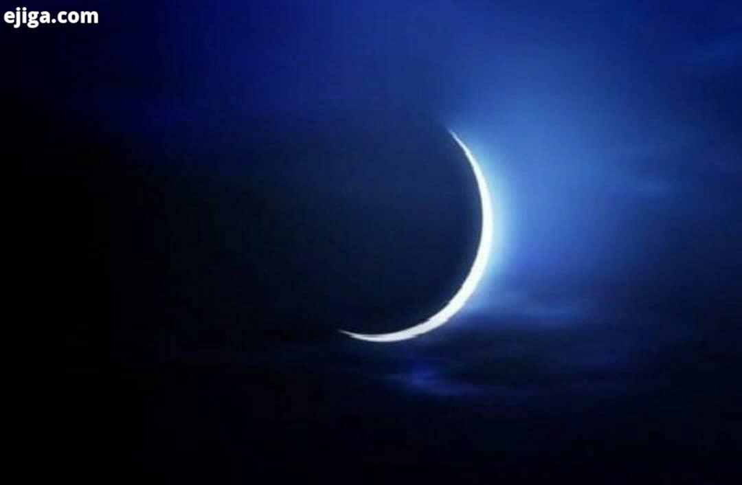 قابل توجه طبیعت گردان: جهت یابی در طبیعت جهت یابی با هلال ماه ماه به شکل هلالی باریک متولد می شود در